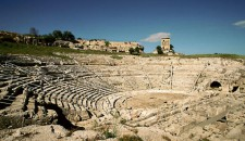 The Archaeological Park Of The Neapolis Of Syracuse